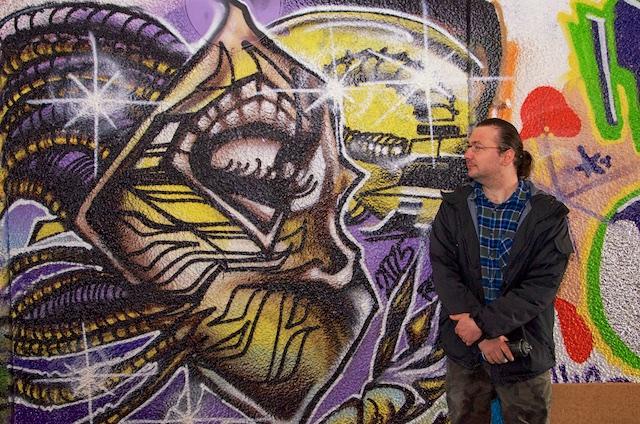 De absolut sista graffitimålningarna i Talavidstunneln i Jönköping (1/6)