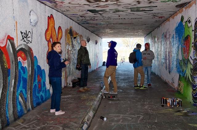 De absolut sista graffitimålningarna i Talavidstunneln i Jönköping (3/6)