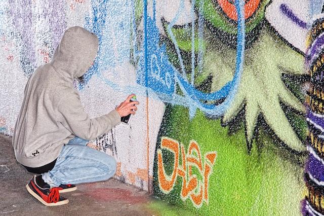 De absolut sista graffitimålningarna i Talavidstunneln i Jönköping (6/6)