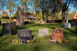 Morfar, mormor, och mammas gravar