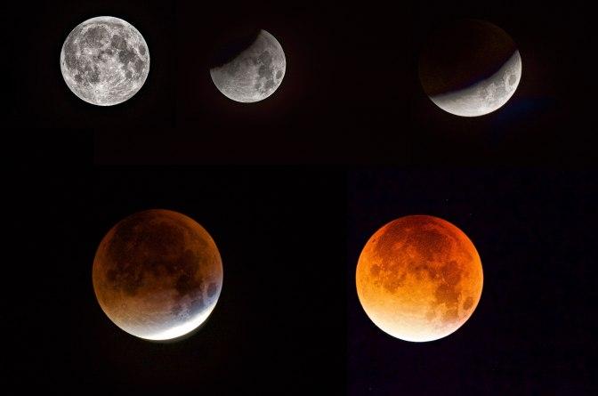 Supermåne och Blodmåne 2015.09.28