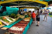 Marknaden i Montmort-Lucy