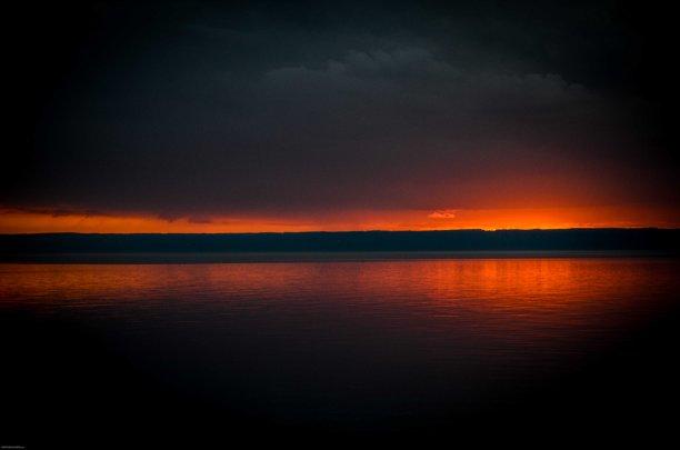 Solnedgång vid Ölands Brygga