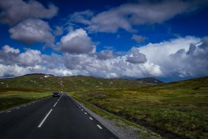 Vägen upp mot Stekenjokk