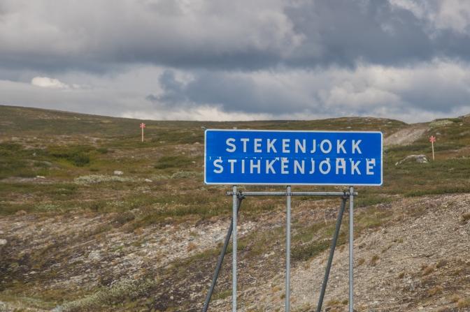 Husbilssemester 2017, del 1: Vildmarksvägen – Blå vägen, från Strömsund till Mo i Rana i Norge.