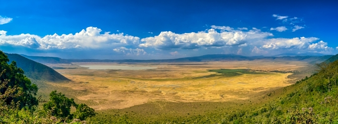 Tanzania – Zanzibar oktober 2018, del 4 Ngorongoro National Park